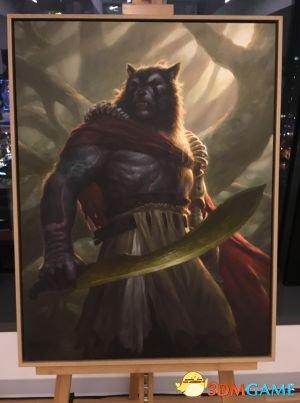 《石器牌》艺术图公布 包含《Dota2》三位新英雄