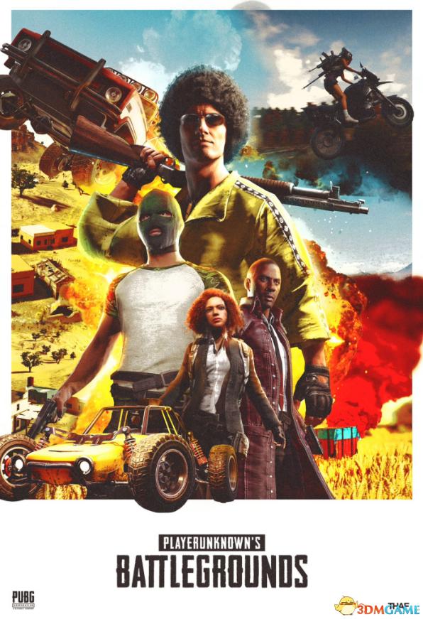 智利美女图片_《绝地求生》官方分享玩家自制海报 效果很不错_www.3dmgame.com
