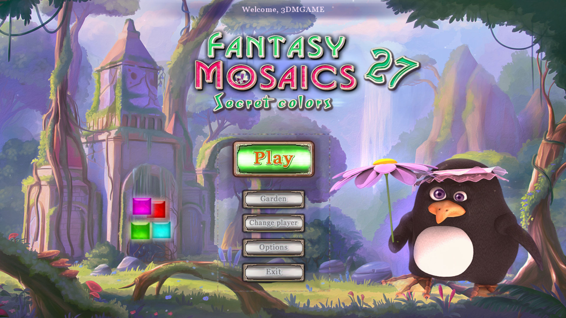 幻想马赛克27:秘密色彩 游戏截图