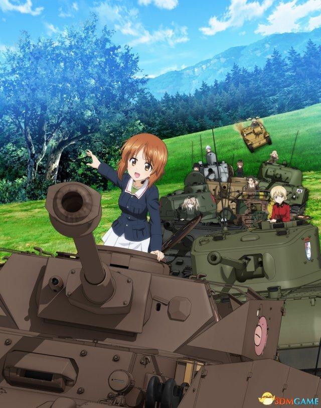 PS4新作《少女与战车:梦幻大会战》新更新上线