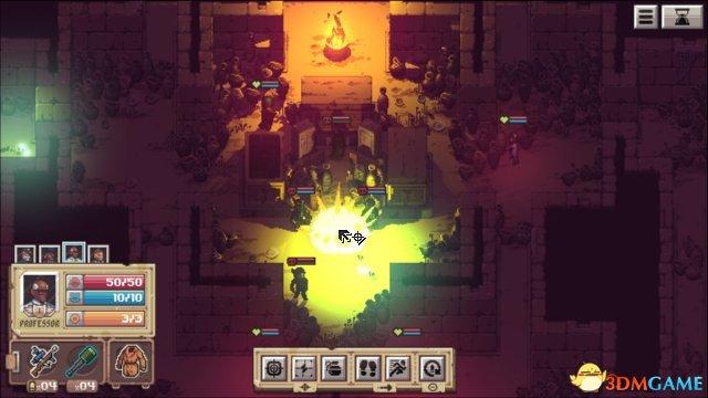 星露谷發行商新作上線Steam 像素風二戰策略新作