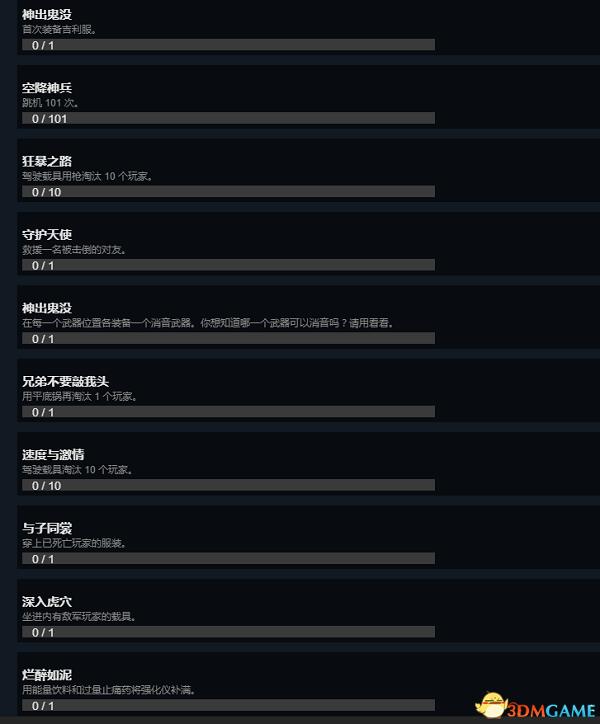 《绝地求生》新增37种游戏成就 大吉大利晚上吃鸡