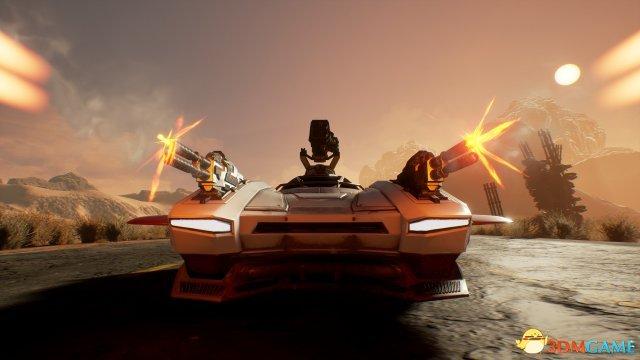 《黑暗未来:血腥国度》实机演示 策略与赛车结合