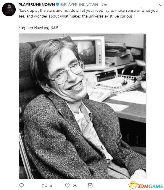 BBC:英国传奇科学家斯蒂芬霍金去世 享年76岁