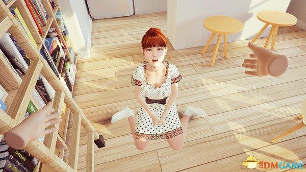 《與你在一起VR》將登陸Steam 萌妹讓人臉紅心跳