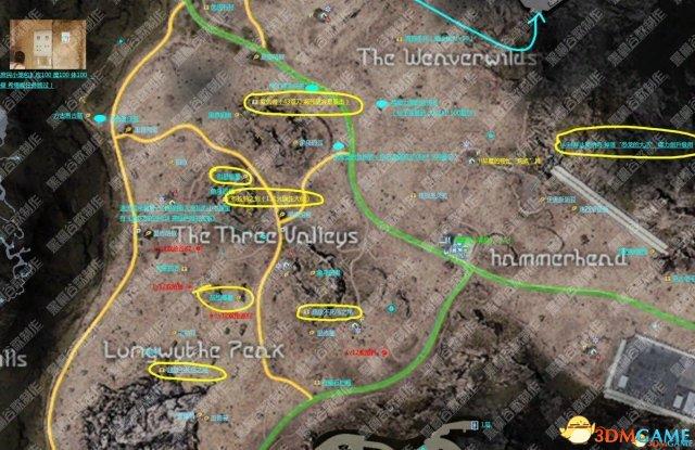 最终幻想15全道具武器收集地图详解