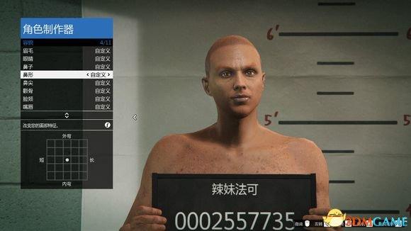 侠盗猎车5妖王捏脸数据一览