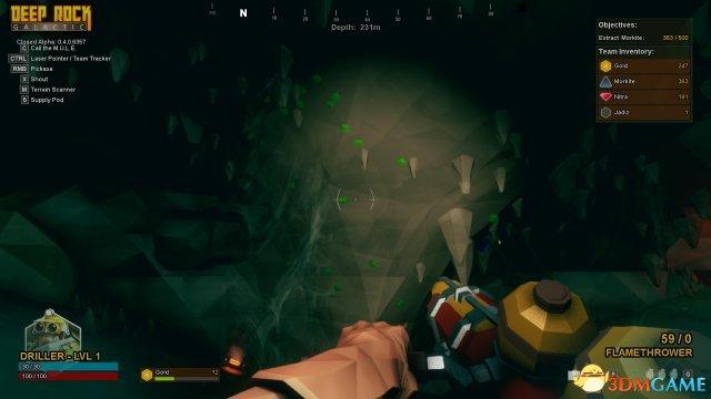 深岩银河下潜宝石挖掘步骤