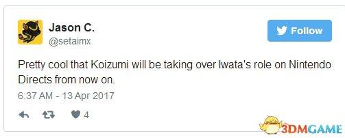 """""""小泉能接替岩田的直面会主持人之位真是太酷了"""""""