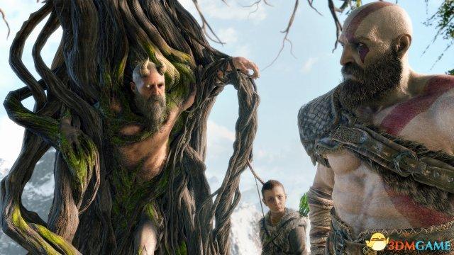 游戏重新诠释了以往所熟知的北欧神话,原本是智慧之泉看守者的巨人密米尔,在游戏中是以这般样貌登场