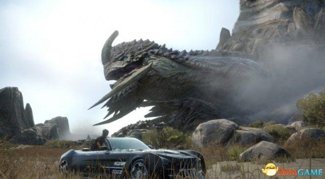 《最终幻想15》车载音乐替换MOD 这才像自己的车