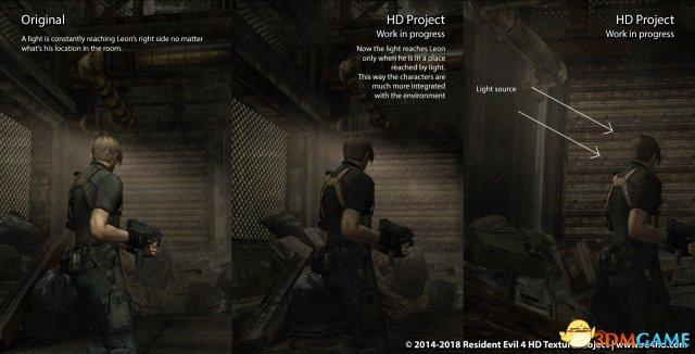 《生化危机4》HD计划新演示 对比原版画面大提升