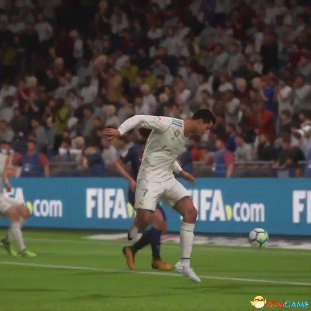 《FIFA 18》官方分享上周十佳球 C罗杂耍射门酷