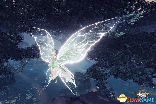 树深时遇蝶 《天谕》森林时装曝光