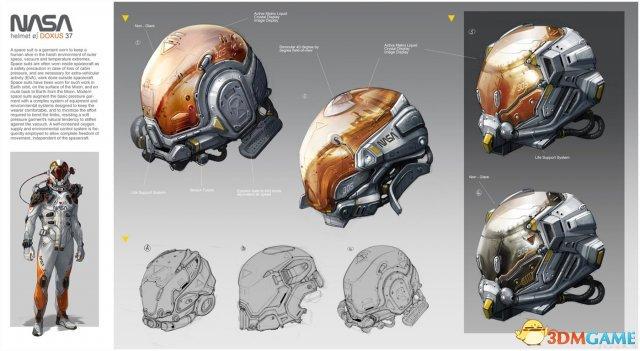 加拿大概念艺术家新原画欣赏 未来科幻风格浓厚