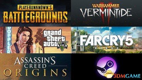 Steam周销量排行榜 《战锤:末世鼠疫2》位居第二