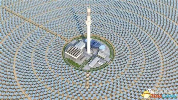 中國沙漠現科技 亞洲最大太陽能項目8月發電
