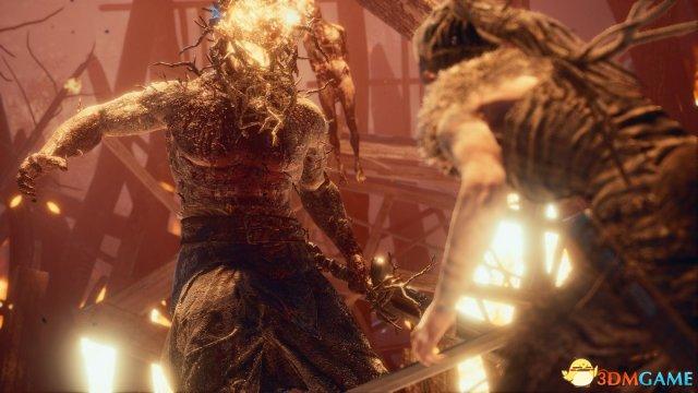 XboxOne版《地狱之刃:塞娜的献祭》可选3种画质