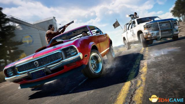 《孤岛惊魂5》发售预告 外媒评游戏剧情有些牵强