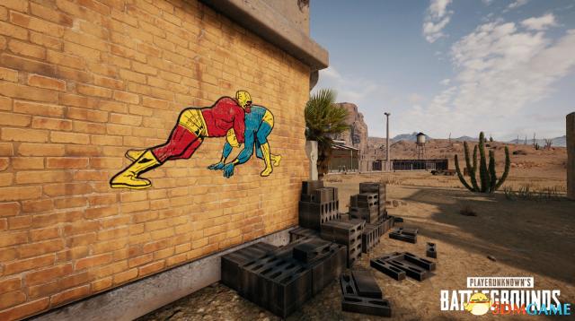 《绝地求生》官方涂鸦设计大赛 让全球玩家都看到