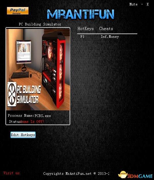 装机模拟器 v0.7.4无限预算修改器[MrAntiFun]