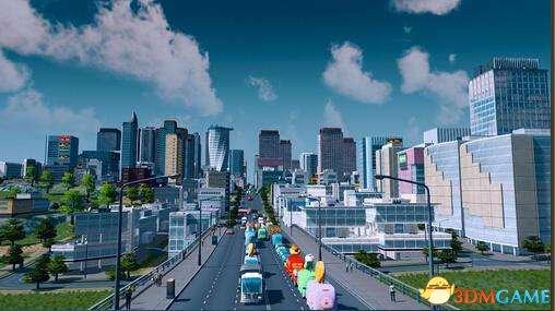 城市天际线各公共交通使用心得