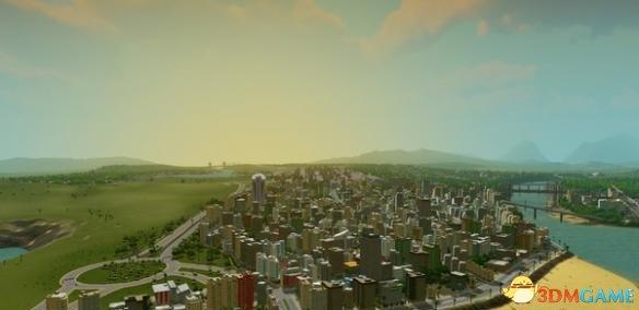 城市天际线石油工业对城市的影响