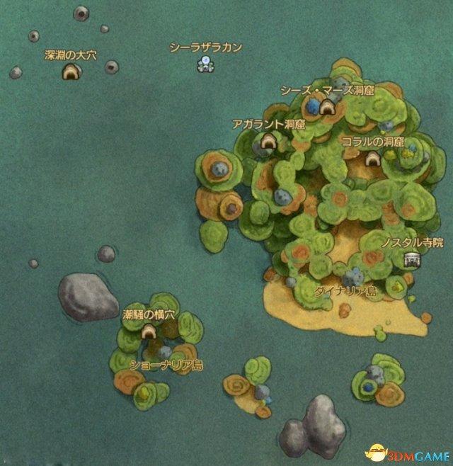 二之国2亡灵之国全区域地图 二之国2全地图详细标注