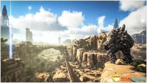 《方舟:生存进化Online》焦土一霸,你知道它被打了会挠头嘛!