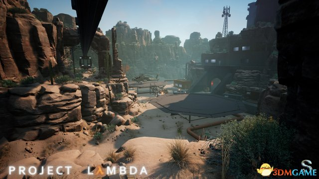 Lambda计划最新截图公布 自制版虚幻4《半条命》