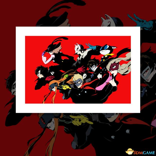 《女神異聞錄5》精美插畫作品欣賞 優質壁紙素材