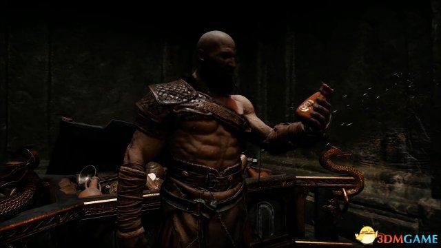 《战神4》最新视频演示奎托斯父子大年夜战北欧巨人