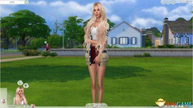 模拟人生4 慵懒的杰西卡御姐mod