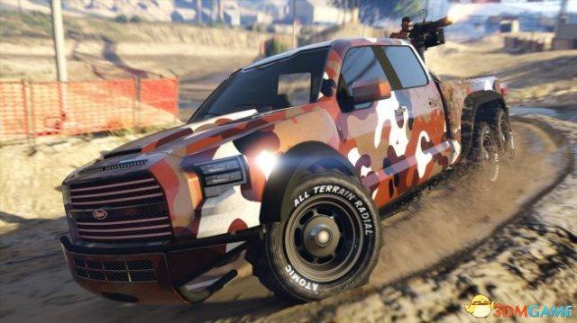 《侠盗猎车OL》全新DLC发布 驾驶皮卡横扫对手