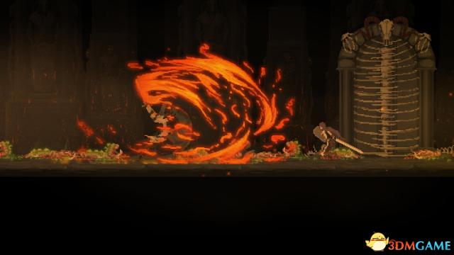 2D动作游戏《黑暗献祭》预告 恶魔城与黑魂合体