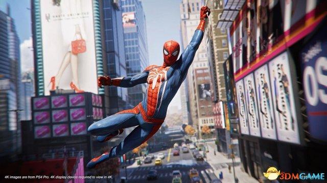 《蜘蛛侠》PS4 Pro版高清截图欣赏 堪比电影画质