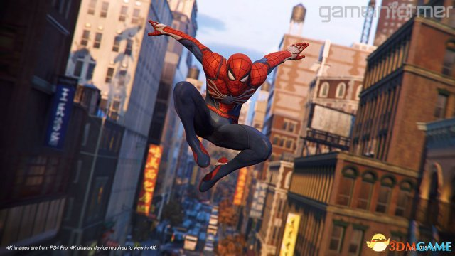 《蜘蛛侠》上手试玩前瞻:追逐完美的跳跃体验