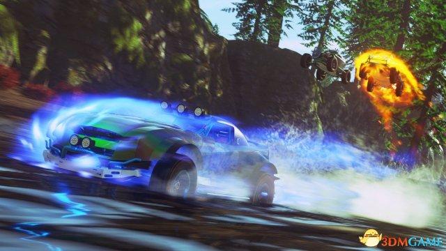 硬核赛车游戏《Onrush》预告片 开车只是次要目标