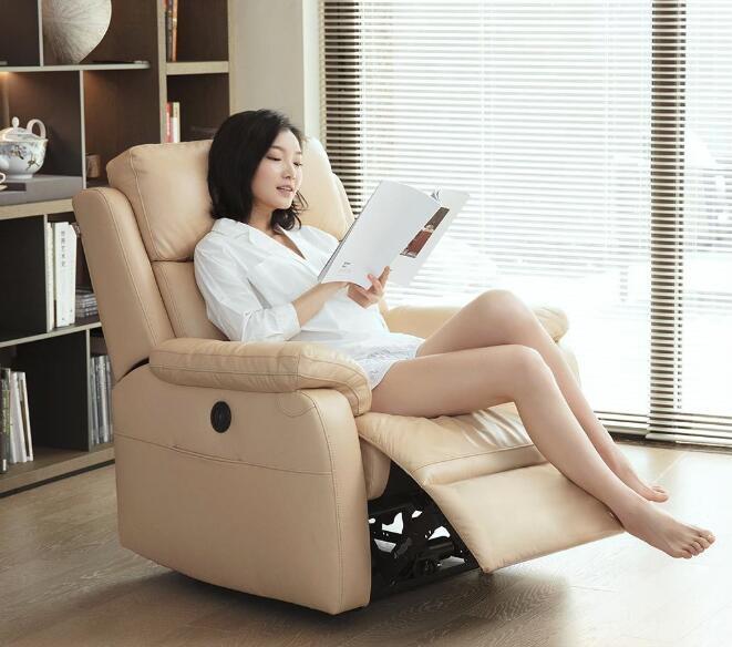 小米众筹上架8H真皮电动休闲沙发 舒适坐感体验