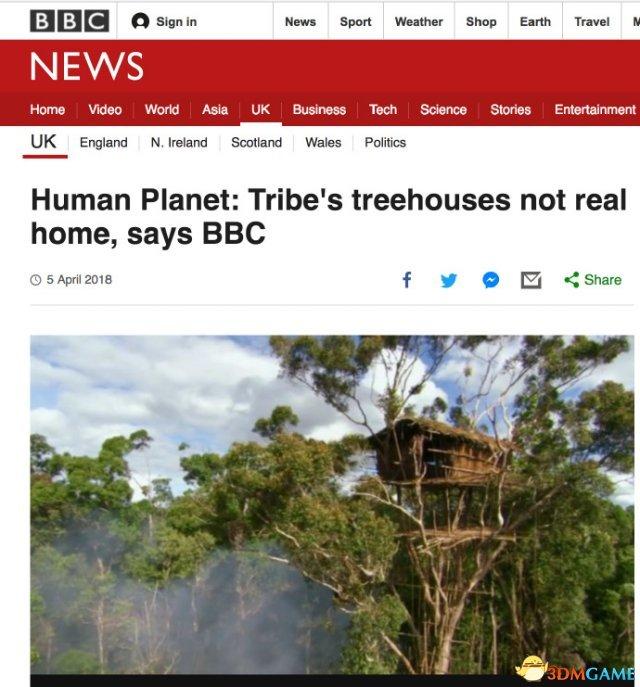 BBC承認紀錄片造:多處撼婌實為擺拍效果