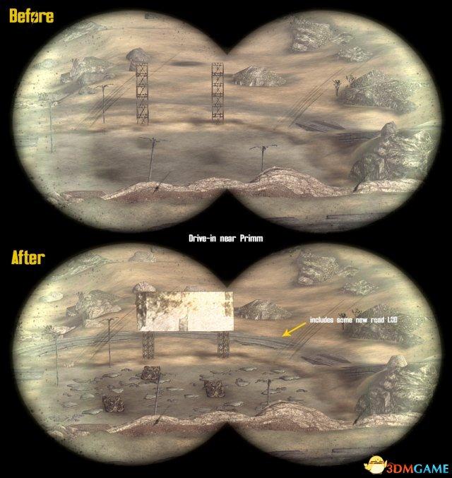 《辐射:新维加斯》远景MOD发布 画面不再难看