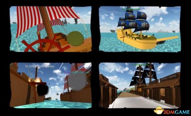 《盗贼之海》原型图片欣赏 效果如同复古卡通片