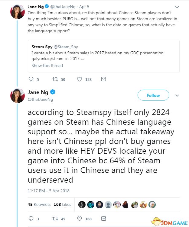 中国Steam玩家只买《绝地求生》 不买其他游戏?