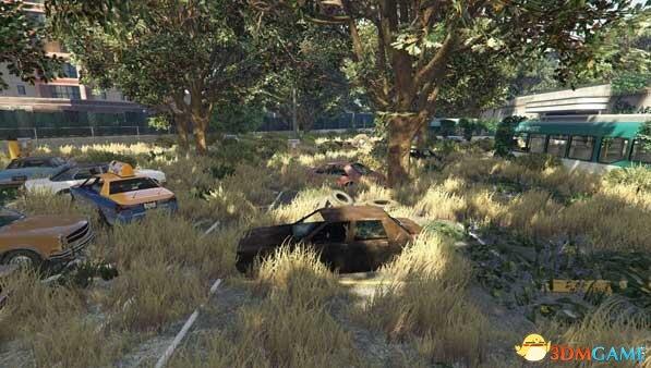 侠盗猎车5 无人的末世地图mod
