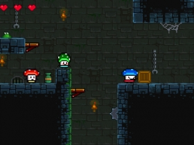 蘑菇三兄弟 游戏截图