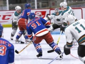 NHL冰球09 游戏截图