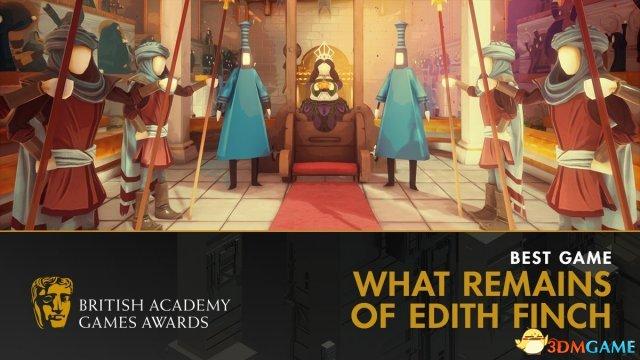 英国BAFTA游戏奖项汇总:年度最佳竟不是塞尔达