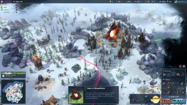 《北境之地》全新更新公布 加入全新可操作派系