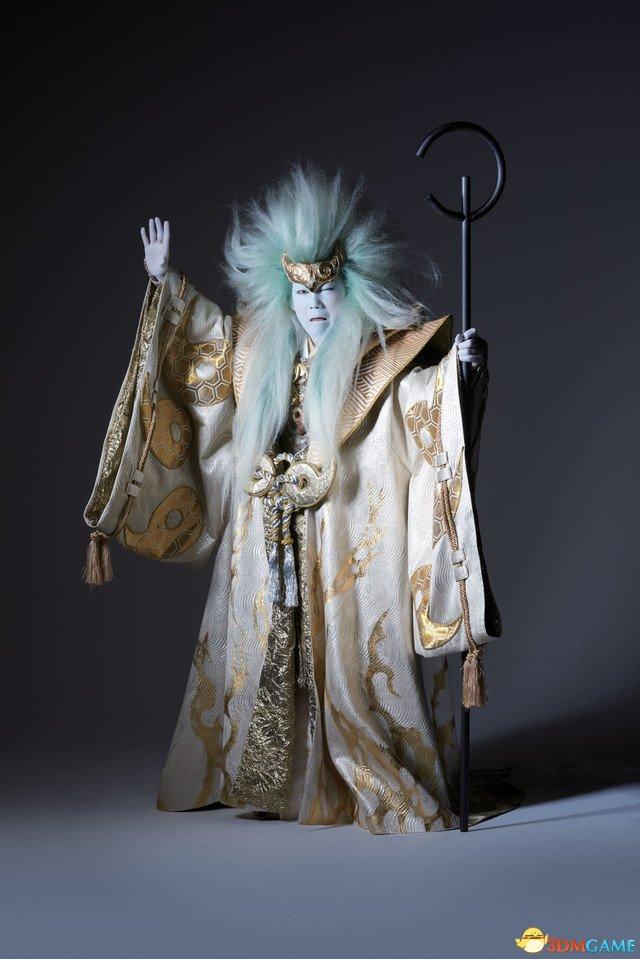 气场惊人 歌舞伎版《火影忍者》宇智波斑定妆照公开