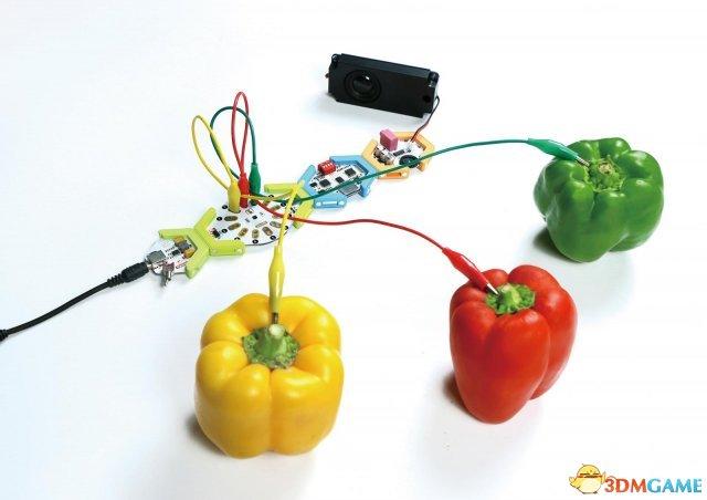 <b>创意带来更有趣游戏 日社推出奇趣水果蔬菜通电乐器</b>